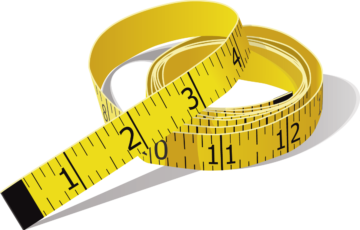 tape measure that represents the custom aspect of our financial advisor websites