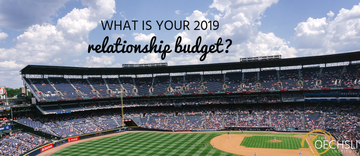 What Is Your 2019 Relationship Budget?