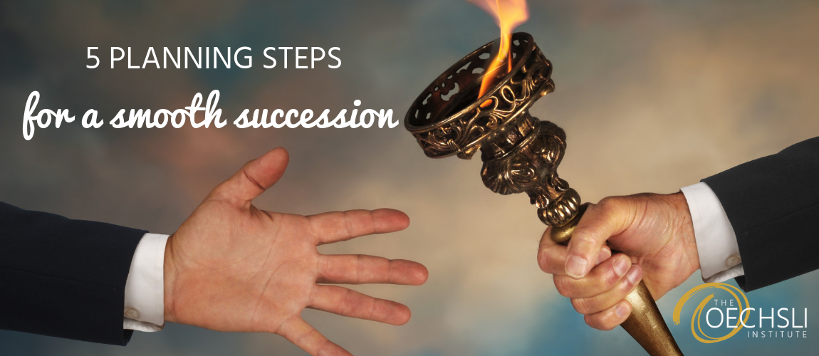 5 Planning Steps for a Smooth Succession