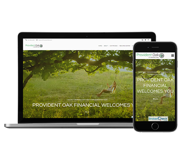 Financial Advisor Websites - Tips and Examples - The Oechsli